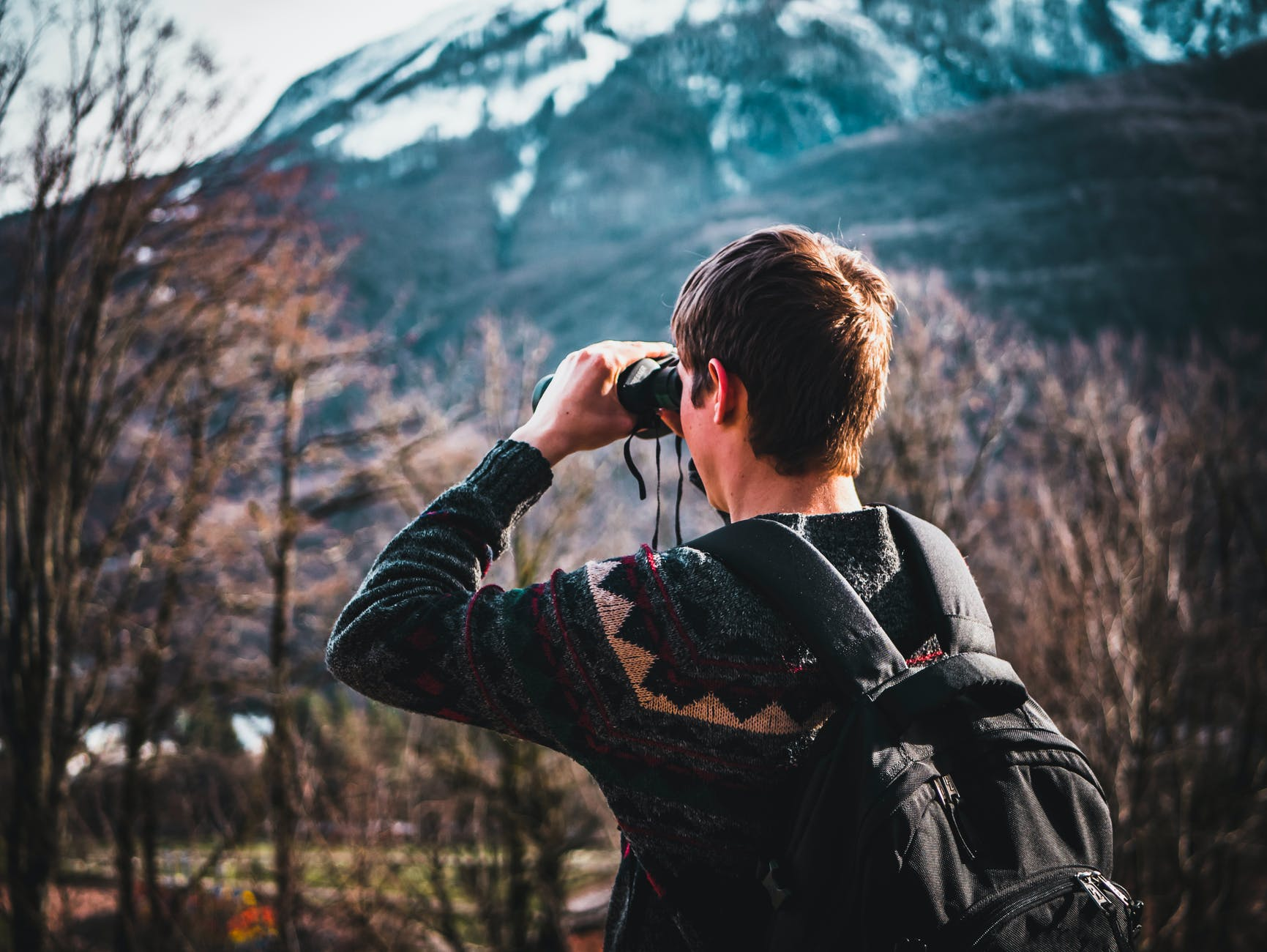 numbers on binoculars